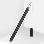 JD01 Universal Magnetic Pen Cap + Disc + Spare Pen Head Stylus Pen for Smart Tablets and Mobile Phones(Black)
