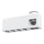 Original Xiaomi Youpin Dr. Meng Wall-mounted UV Sterilization Toothbrush Holder (White)