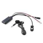 Car AUX Bluetooth Music Audio Cable + MIC for Alpine KCA-121B 9887/105/117/9855/305S