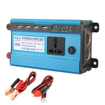 Carmaer 24V to 220V 500W Double Cigarette Lighter Car Double Digital Display Inverter Household Power Converter
