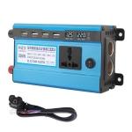 Carmaer 48V to 220V 500W Double Socket Car Double Digital Display Inverter Household Power Converter