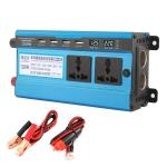 Carmaer 24V to 220V 1200W Double Cigarette Lighter Car Double Digital Display Inverter Household Power Converter