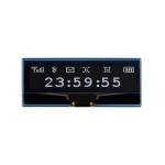 WAVESHARE 128 x 32 Pixel 2.23 inch OLED Display Module for Raspberry Pi Pico, SPI/I2C
