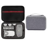 For DJI Mavic Mini SE Shockproof Carrying Hard Case Storage Bag(Grey + Black Liner)