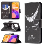 For OPPO Realme 8 / Realme 8 Pro Colored Drawing Pattern Horizontal Flip Leather Case with Holder & Card Slots & Wallet(Smirk)