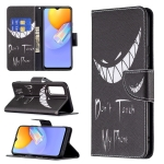 For vivo Y51 2020 / Y51a / Y51s Colored Drawing Pattern Horizontal Flip Leather Case with Holder & Card Slots & Wallet(Smirk)