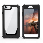 Stellar Space PC + TPU 360 Degree All-inclusive Shockproof Case For iPhone SE 2020 / 8 / 7 / 6 / 6s(Black)