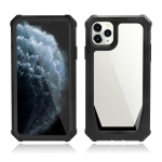 Stellar Space PC + TPU 360 Degree All-inclusive Shockproof Case For iPhone 11 Pro Max(Black)
