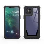 Stellar Space PC + TPU 360 Degree All-inclusive Shockproof Case For iPhone 12 / 12 Pro(Black)
