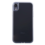 Transparent Stepless Fine Hole Glass Protective Case For iPhone XR