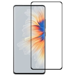 For Xiaomi Mi Mix 4 3D Curved Edge Full Screen Tempered Glass Film(Black)