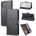 Crazy Horse Texture Horizontal Flip PU Leather Case with Holder & Card Slots & Wallet & Photo Frame For iPhone 13(Dark Blue)