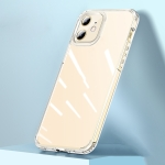 wlons Ice Crystal PC + TPU Shockproof Case For iPhone 13(Transparent)