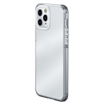 wlons Ice-Crystal Matte PC+TPU Four-corner Airbag Shockproof Case For iPhone 13 mini(Transparent)