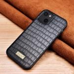 SULADA Crocodile Texture TPU Protective Case For iPhone 13 mini(Black)