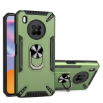 For Huawei Y9a PC + TPU Protective Case with 360 Degrees Rotatable Ring Holder(Dark Green)