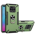 For Tecno Camon 16 Premier PC + TPU Protective Case with 360 Degrees Rotatable Ring Holder(Dark Green)