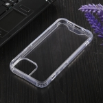 Four-corner Shockproof Transparent TPU + PC Protective Case For iPhone 13