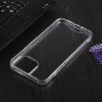 Four-corner Shockproof Transparent TPU + PC Protective Case For iPhone 13 Pro Max