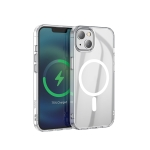 hoco Magnetic Series Airbag Anti-fall Protective Case For iPhone 13 Mini(Transparent)