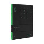 Original Xiaomi Youpin DTB40084 Kinbor B6 Luminous Travel Notebook(Black)