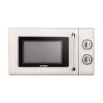 Original Xiaomi Youpin QCOOKER CR-WB01B 20L Retro Simple Operation Microwave Kitchen Appliances, CN Plug(White)