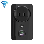 EC59 2.0 Million Pixel 1080P Smart HD Wireless Camera with WiFi Smart Socket (Black)