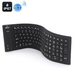 JA-11 108-keys Foldable Silicone Bluetooth Keyboard