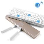 B.O.W HB199 Foldable Bluetooth Keyboard (Gold)