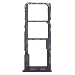 SIM Card Tray + SIM Card Tray + Micro SD Card Tray for Samsung Galaxy A22 SM-A225 (Black)