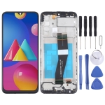 LCD Screen and Digitizer Full Assembly With Frame for Samsung Galaxy M02s (NF Version)
