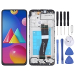 LCD Screen and Digitizer Full Assembly With Frame for Samsung Galaxy M02s (NL Version)