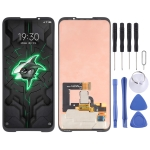 Original AMOLED Material LCD Screen and Digitizer Full Assembly for Xiaomi Black Shark 3 Pro