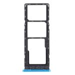 SIM Card Tray + SIM Card Tray + Micro SD Card Tray for Infinix Hot 10s / Hot 10T X689B X689 X689C (Blue)