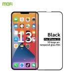 MOFI 9H 3D Explosion-proof Curved Screen Tempered Glass Film For iPhone 13 / 13 Pro(Black)