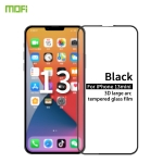 MOFI 9H 3D Explosion-proof Curved Screen Tempered Glass Film For iPhone 13 mini(Black)