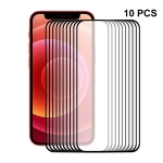 10 PCS ENKAY Hat-Prince Full Glue 0.26mm 9H 2.5D Tempered Glass Screen Protector Full Coverage Film For iPhone 13 / 13 Pro