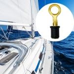 Brass Drain Plug Ship Deck Drain Plug For 1 Iinch Hole