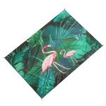 Outdoor Color Beach Mat Waterproof Picnic Mat, Size:1×1.4m(Flamingo)