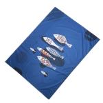 Outdoor Color Beach Mat Waterproof Picnic Mat, Size:1.4x2m(Fish Pattern)