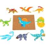 MQY-9988 Early Childhood Education Puzzles Baby Wooden Puzzle Toys(Animal)