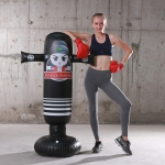 1.6m NIflatable Boxing Column  Adult Fitness Vent Sandbag Thickening Children Exercise Tumbler( Champion)