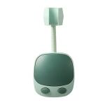 2 PCS Punch-Free Universal Moving Head Shower Bracket Bathroom Adjustable Shower Head Fixing Frame, Specification: Green(OPP Bag)