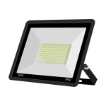 100W Linear LED Spotlight Outdoor Project Light Waterproof Garden Energy-Saving Lighting Floodlight, Style:(Cold White Light)