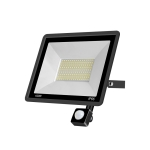 100W PIR LED Spotlight Outdoor Project Light Waterproof Garden Energy-Saving Lighting Floodlight, Style:(Cold White Light)