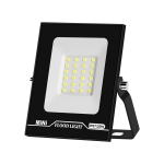 20W LED Projection Lamp Outdoor Waterproof High Power Advertising Floodlight High Bright Garden Lighting(Cold White Light)
