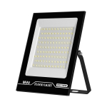 100W LED Projection Lamp Outdoor Waterproof High Power Advertising Floodlight High Bright Garden Lighting(Cold White Light)