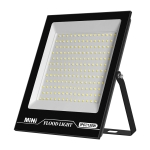 150W LED Projection Lamp Outdoor Waterproof High Power Advertising Floodlight High Bright Garden Lighting(Cold White Light)