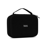 Baona BN-F011 Laptop Power Cable Digital Storage Protective Box, Specification: Black