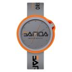 SANDA 3200 Silicone Belt Quartz Sports Watch For Men And Women(Gray)